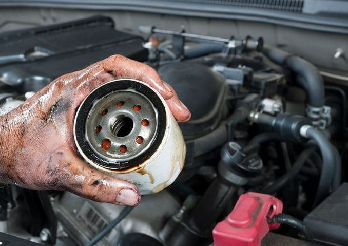 Motor Oil And Filter